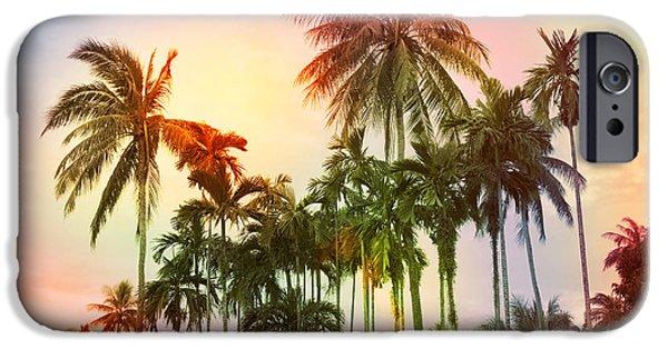 Tree iPhone 6 Case - Tropical 11 by Mark Ashkenazi