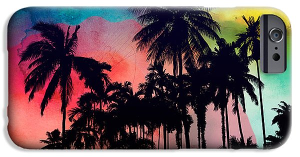 Dissing iPhone 6 Case - Tropical Colors by Mark Ashkenazi