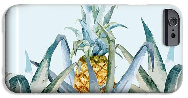 Contemporary iPhone 6 Case - Tropical Feeling  by Mark Ashkenazi