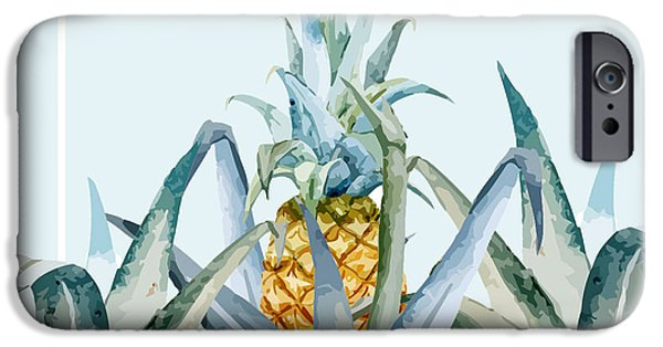 Pattern iPhone 6 Case - Tropical Feeling  by Mark Ashkenazi
