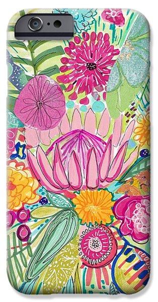 Contemporary iPhone 6 Case - Tropical Foliage by Rosalina Bojadschijew