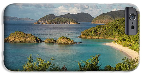 IPhone 6 Case featuring the photograph Trunk Bay Morning by Adam Romanowicz