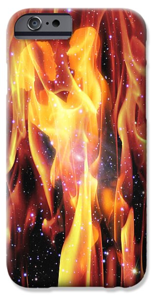 Buddhism iPhone 6 Case - Twin Flames by Dedric Artlove W