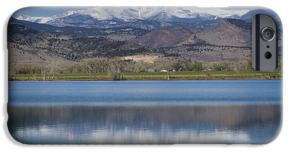 Stock Images iPhone Cases - Twin Peaks McCall Reservoir Reflection iPhone Case by James BO  Insogna