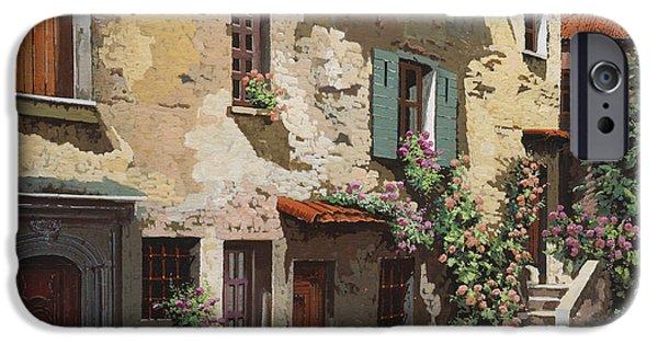 Village iPhone 6 Case - Un Cielo Improbabile by Guido Borelli