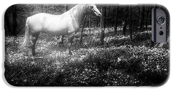Under A Moonlit Sky  #fantasy #unicorn IPhone 6 Case