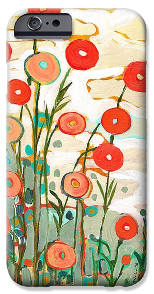 Red iPhone 6 Case - Under The Desert Sky by Jennifer Lommers