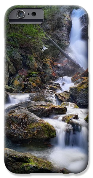 IPhone 6 Case featuring the photograph Upper Race Brook Falls 2017 by Bill Wakeley