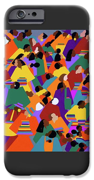 iPhone 6 Case - Uptown by Synthia SAINT JAMES