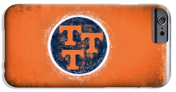 IPhone 6 Case featuring the digital art Ut Tennessee Flag by JC Findley