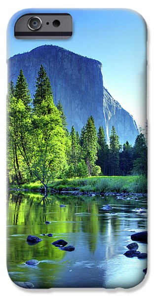 River View iPhone Cases - Valley View Morning iPhone Case by Rick Berk