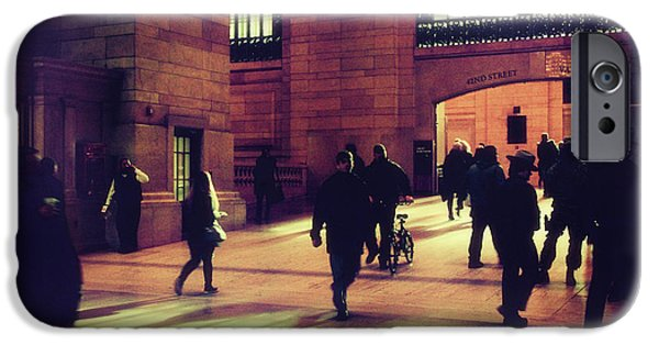 IPhone 6 Case featuring the photograph Grand Central Rush by Jessica Jenney