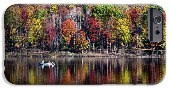 Vanishing Autumn Reflection Landscape IPhone 6 Case