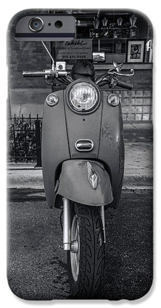 IPhone 6 Case featuring the photograph Vespa by Sebastian Musial