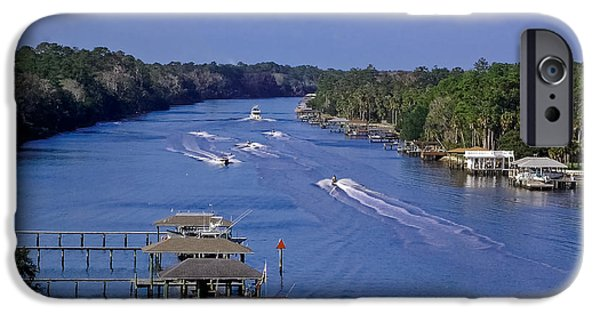 Jet Ski iPhone 6 Case - View From The Bridge Of Lions by DigiArt Diaries by Vicky B Fuller