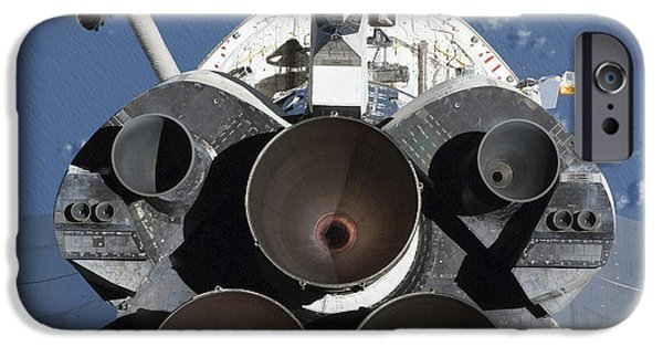 Orbital iPhone Cases - View Of The Three Main Engines Of Space iPhone Case by Stocktrek Images