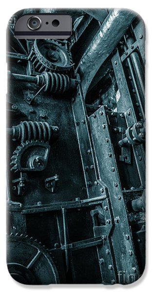 Ironwork iPhone 6 Case - Vintage Industrial Pipes by Carlos Caetano