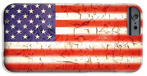 Best Sellers -  - July 4th iPhone Cases - Vintage Stars and Stripes iPhone Case by Jane Rix