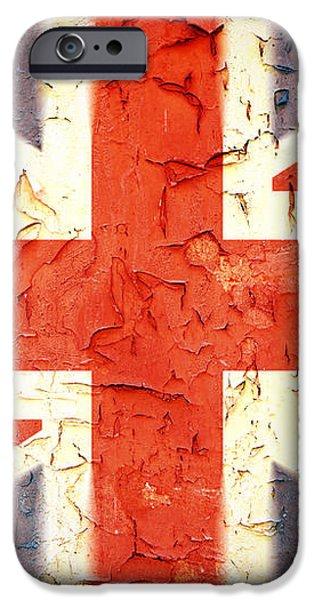 Vintage Union Jack iPhone Case by Jane Rix
