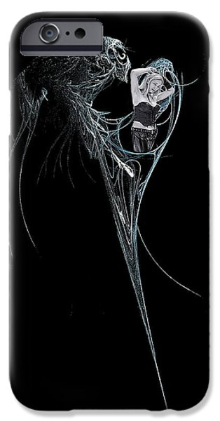 Analytic iPhone Cases - Virgo iPhone Case by Viktor Savchenko