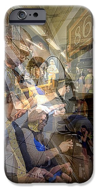 Waiting For 6 Train Collage IPhone 6 Case by Dave Beckerman