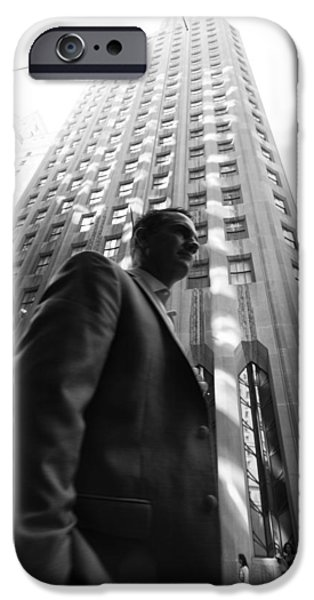 Wall Street Man II IPhone 6 Case by Dave Beckerman