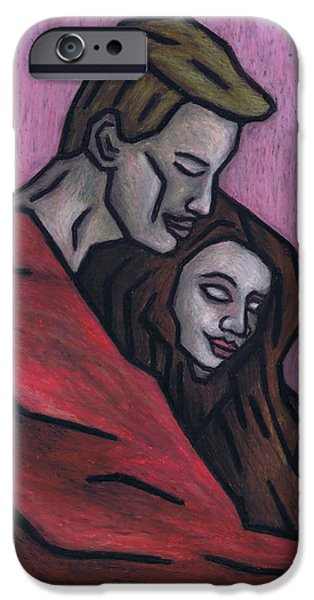 Couple Pastels iPhone Cases - Warm Blanket iPhone Case by Kamil Swiatek