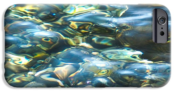 IPhone 6 Case featuring the photograph Water World, Square by Yulia Kazansky