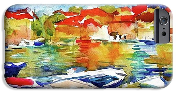 iPhone 6 Case - Watercolor Boats By Svetlana Novikova ( by Svetlana Novikova