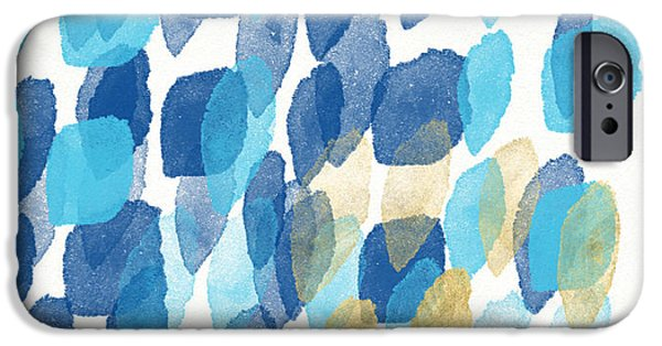 Contemporary iPhone 6 Case - Waterfall- Abstract Art By Linda Woods by Linda Woods