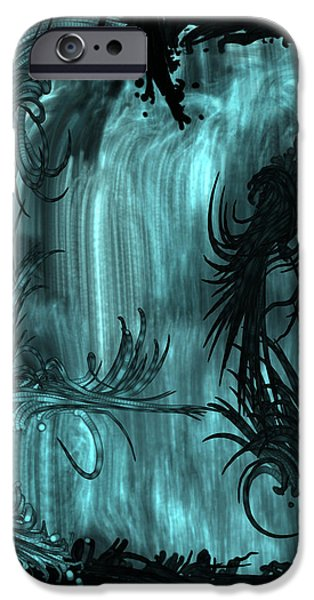 iPhone 6 Case - Waterfall by Orphelia Aristal
