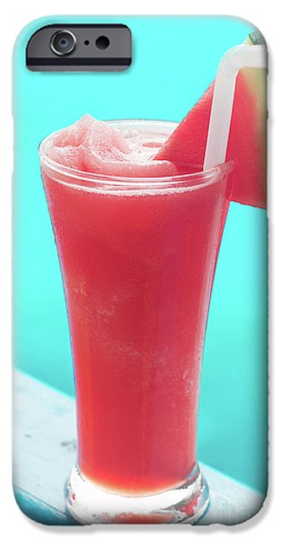 Smoothie iPhone 6 Case - Waterlemon Smoothie by Atiketta Sangasaeng