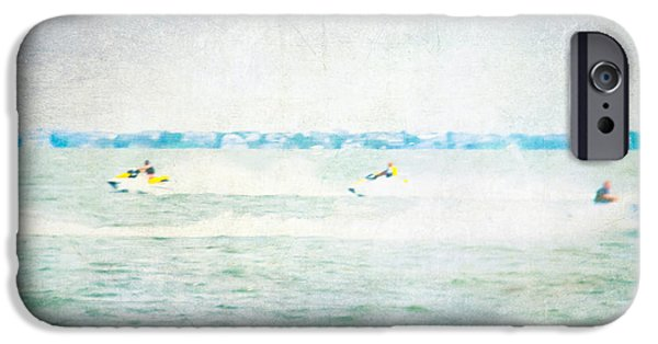 Jet Ski iPhone 6 Case - Wave Runners by Colleen Kammerer