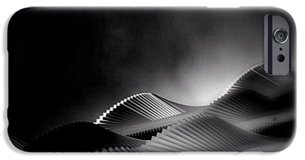 Waves Of Steel - Concrete Jungle IPhone 6 Case by Robbert Ter Weijden