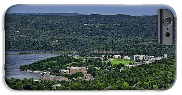 Best Sellers -  - Hudson River iPhone Cases - West Point from Storm King Overlook iPhone Case by Dan McManus