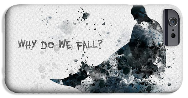 Bat iPhone 6 Case - Why Do We Fall? by My Inspiration