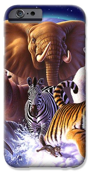 Wildlife iPhone 6 Case - Wild World by Jerry LoFaro