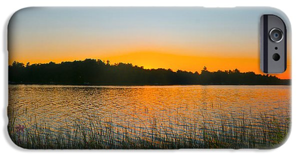Wilderness Point Sunset Panorama IPhone 6 Case by Gary Eason