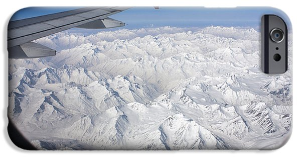 Window To Himalaya IPhone 6 Case by Hitendra SINKAR
