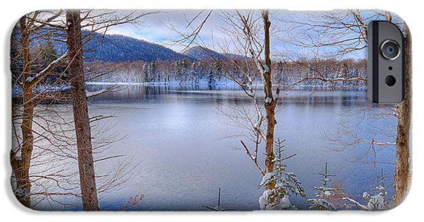 Winter On West Lake IPhone 6 Case by David Patterson