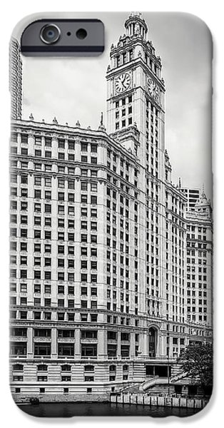 IPhone 6 Case featuring the photograph Wrigley Building Chicago by Adam Romanowicz