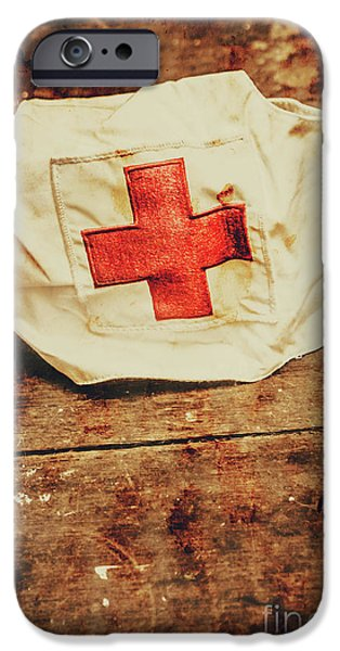 Ww2 Nurse Hat. Army Medical Corps IPhone 6 Case