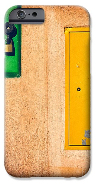 Yellow And Green IPhone 6 Case by Silvia Ganora
