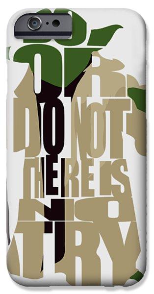Yoda iPhone 6 Case - Yoda - Star Wars by Inspirowl Design