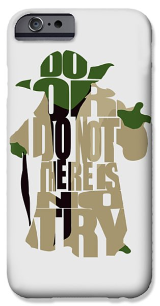 Star iPhone 6 Case - Yoda - Star Wars by Inspirowl Design