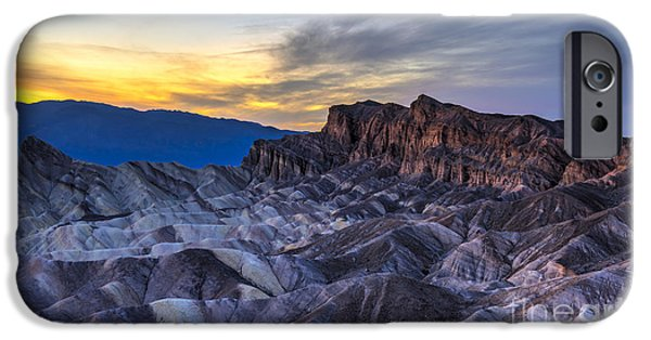 iPhone 6 Case - Zabriskie Point Sunset by Charles Dobbs