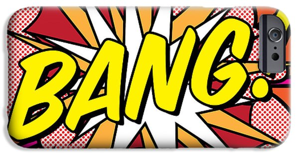 Colorful iPhone 6 Case - Bang by Gary Grayson