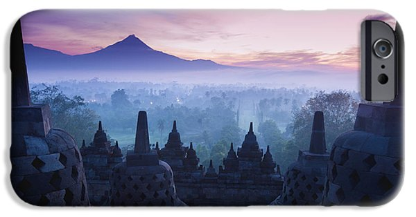 Donation iPhone 6 Case - Borobudur Temple, Yogyakarta, Java by Pigprox