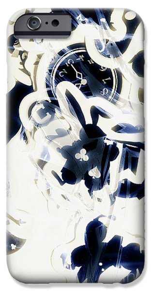 Illusion iPhone 6 Case - Follow The Blue Rabbit by Jorgo Photography - Wall Art Gallery