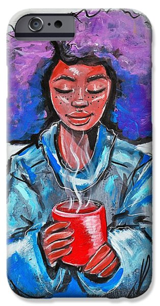 iPhone 6 Case - Hot Cocoa by Artist RiA